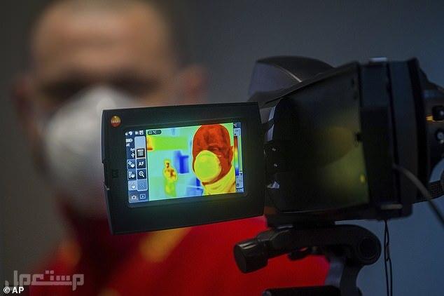 حرارة الأفراد (CAM003) كاميرا مراقبة حرارية لمراقبة وقياس درجة حرارة الأفرا