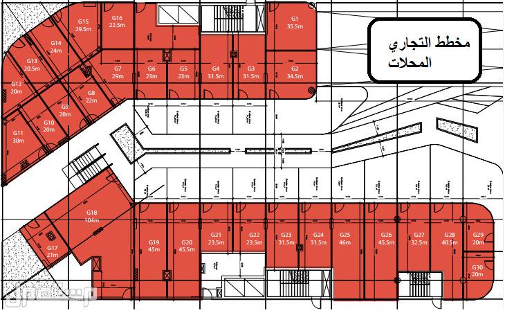 محلات تجارية وادراية وطبيه للبيع في مصر العاصمة الادارية