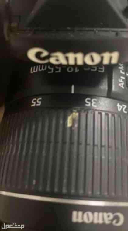 كاميرا كانون شبه جديده