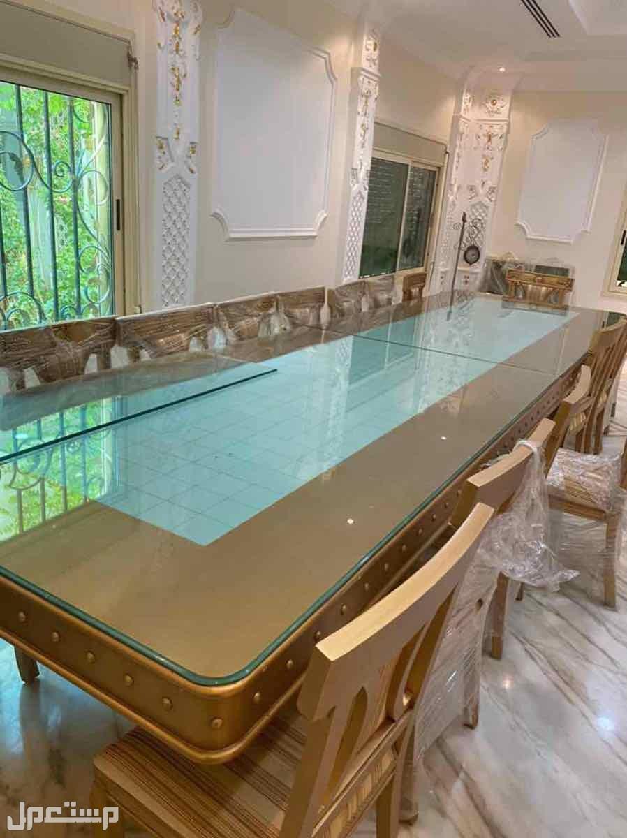 طاوله كبيره 18 كرسي