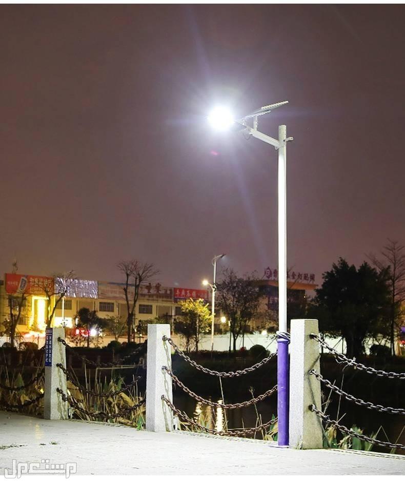 كشاف طاقة شمسية عمود إضاءة من نوع LED