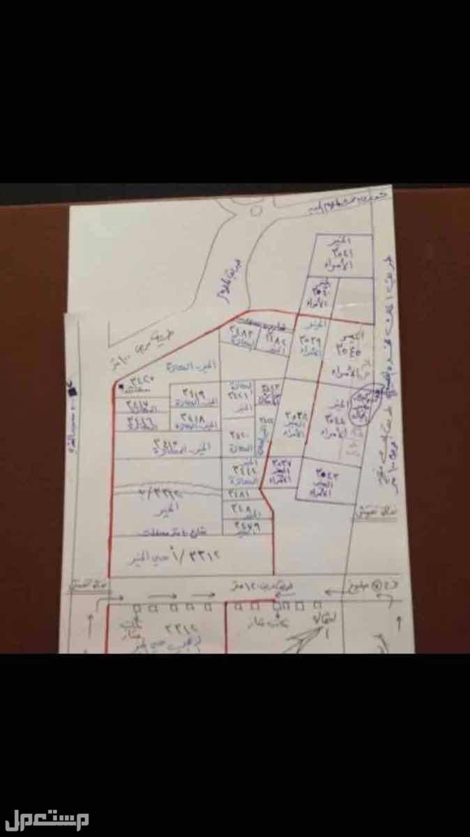 اراضي سكنية مخطط الخير