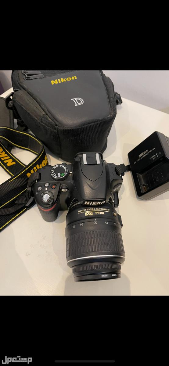 كاميرا نيكون D3200 استعمال نظيف