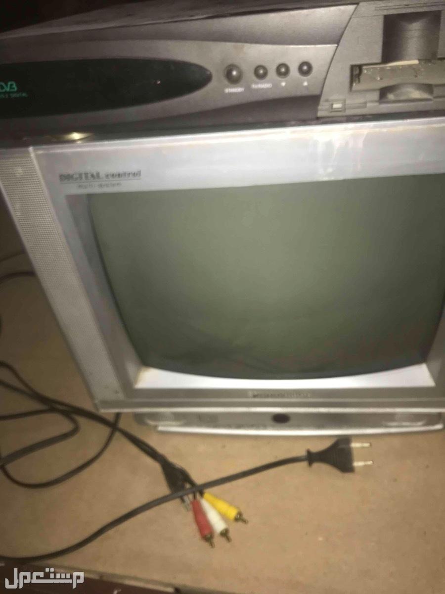 تلفزيون قديم + رسيفر
