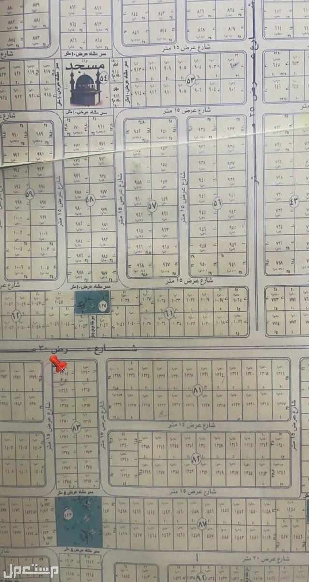 أرض على شارعين ذات موقع مميز في حي الهدا الرابع في محافظة الخرج .