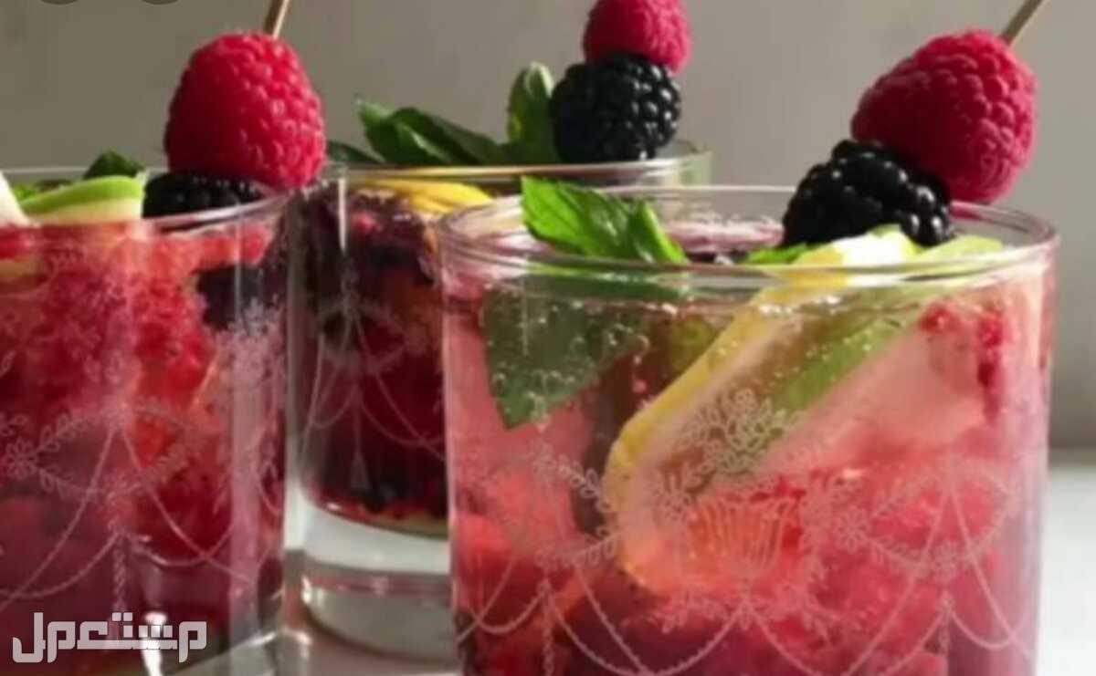 مشروب الصيف المنعش(الموهيتو)🍹🍓🍋. موهيتو ليمون ونعناع