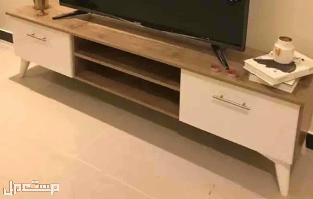 طاولات تلفزيون باسعار مناسب شامل التوصيل الي باب البيت