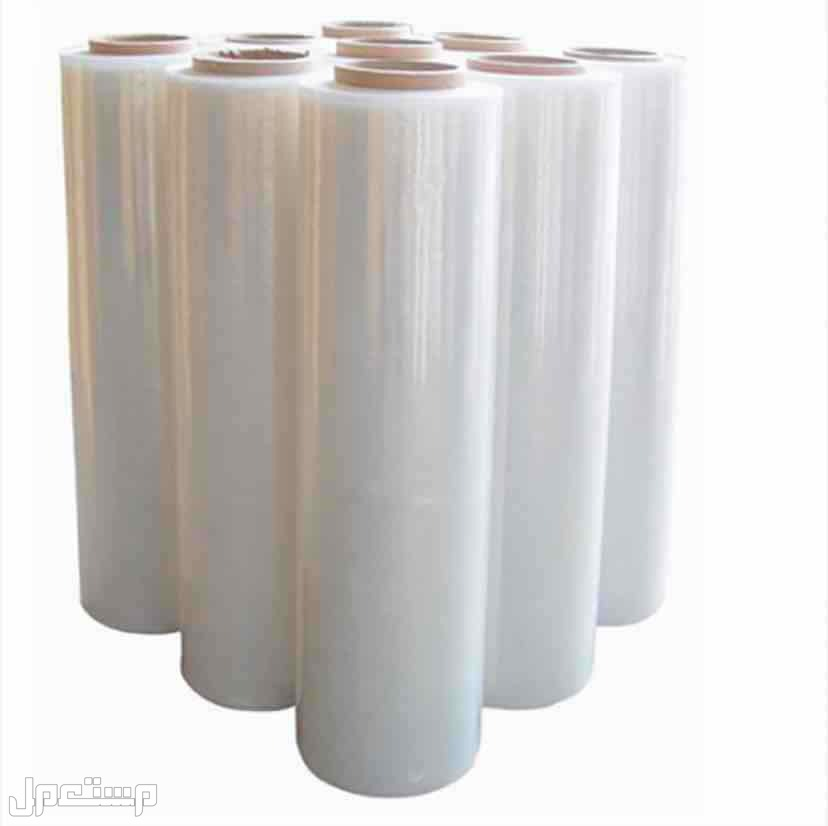 رول تغليف بلاستيك شفاف حجم 2 كيلو