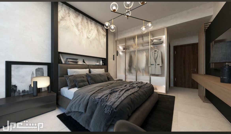 شقة جاهزة ومفروشة غرفتين مع صالتين للبيع بدبي