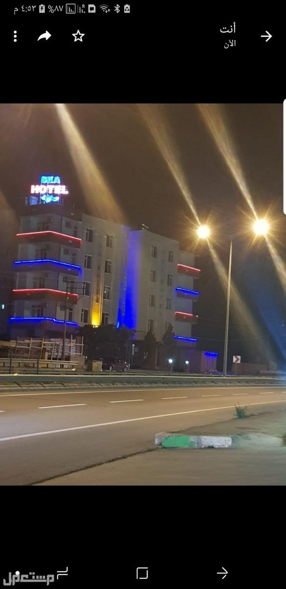 برجين فندق فاخر في تركيا مدينة طربزون على البحر مباشرة