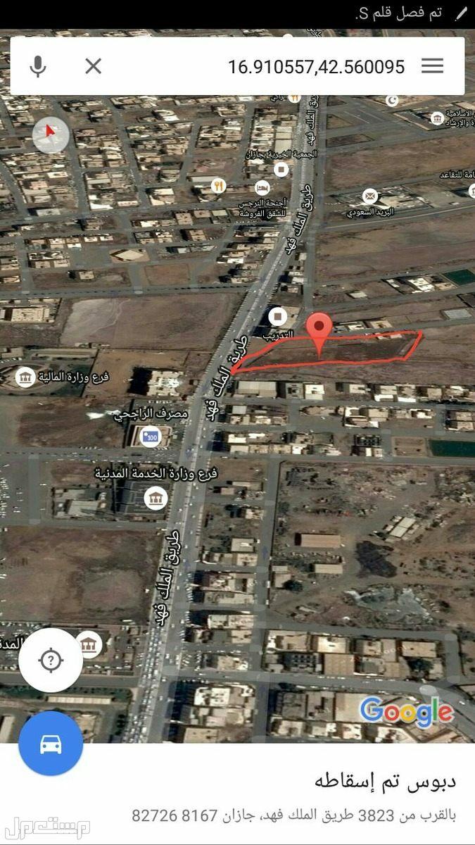 ارض تجارية على شارع الملك فهد بجوار الادارات الحكومية