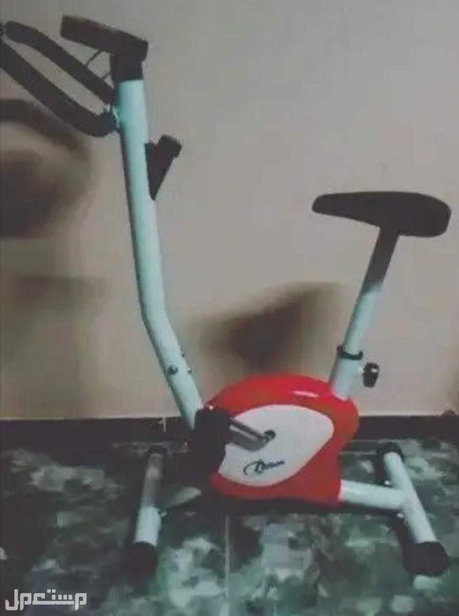 دراجه رياضيه منزلية ثابته وجهاز هوائية رياضي منزلي
