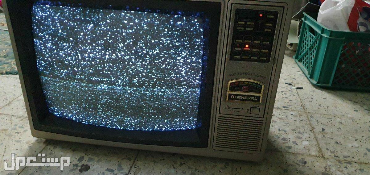 تلفزيون قديم جنرال  ياباني تخشيبه  و تلفزيون جرواند المانيا