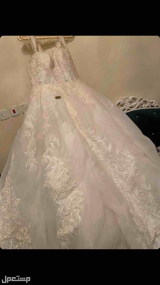 فستان زفاف مستعمل مره واحده فستان زفاف مستعمل ليله واحده
