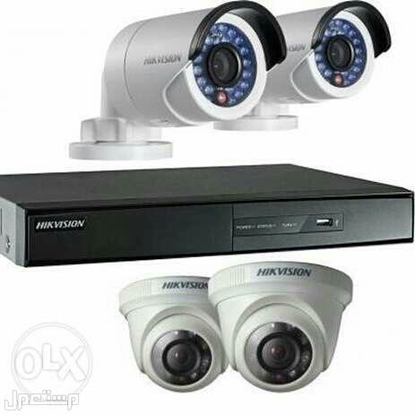 كاميرات مراقبة وأجهزة بصمة وانتركوم