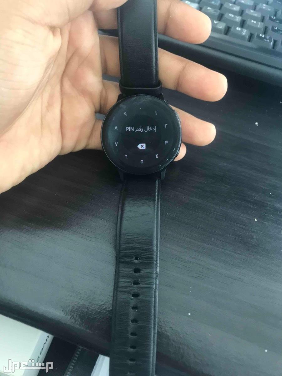 للبيع ساعة سامسونج تشتغل على الايفون و السامسونج و الهواوي