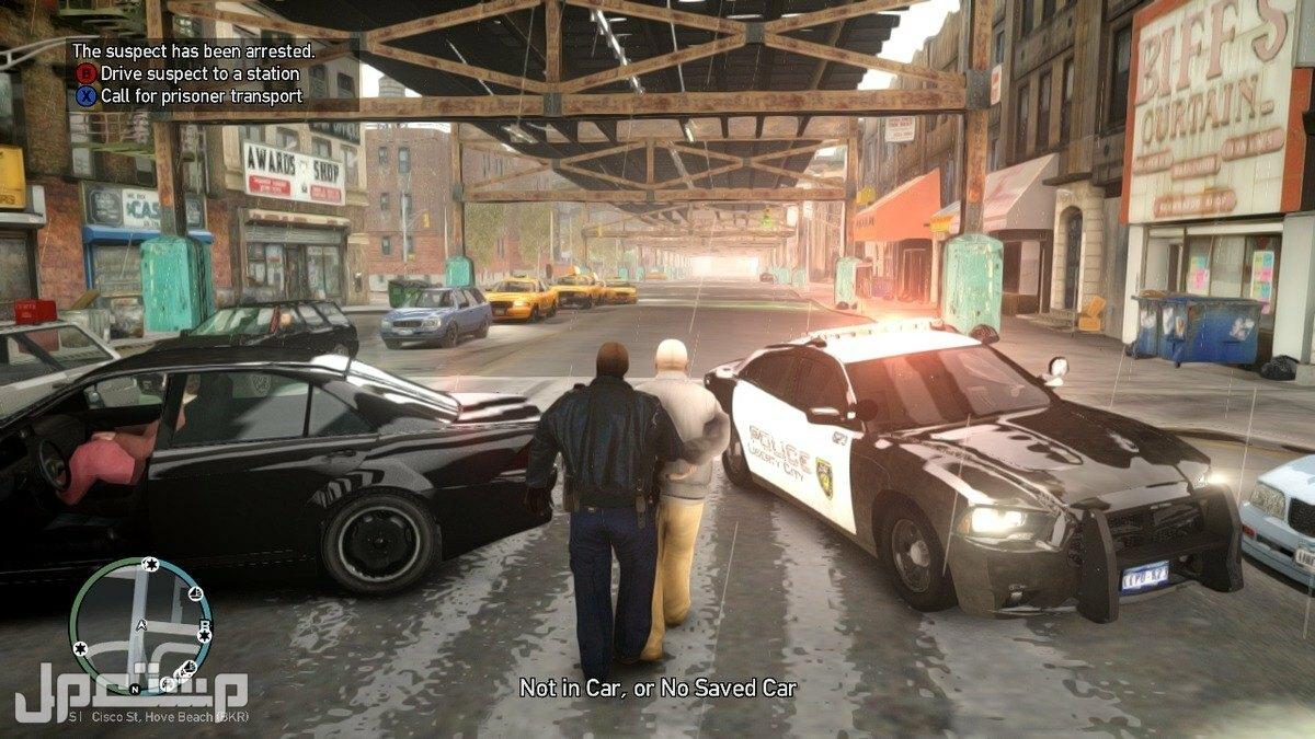تحميل جراند 4 مع مود الشرطة للبي سي