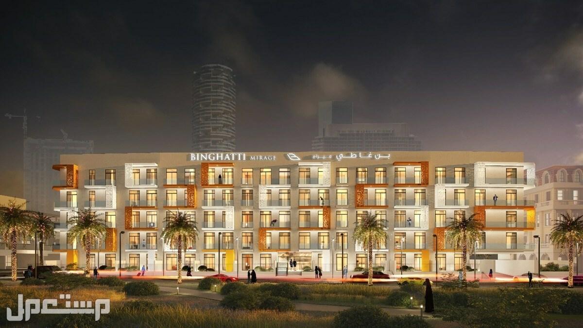 تملك شقة غرفة وصالة فى JVC دبى بقسط شهرى 4900 درهم