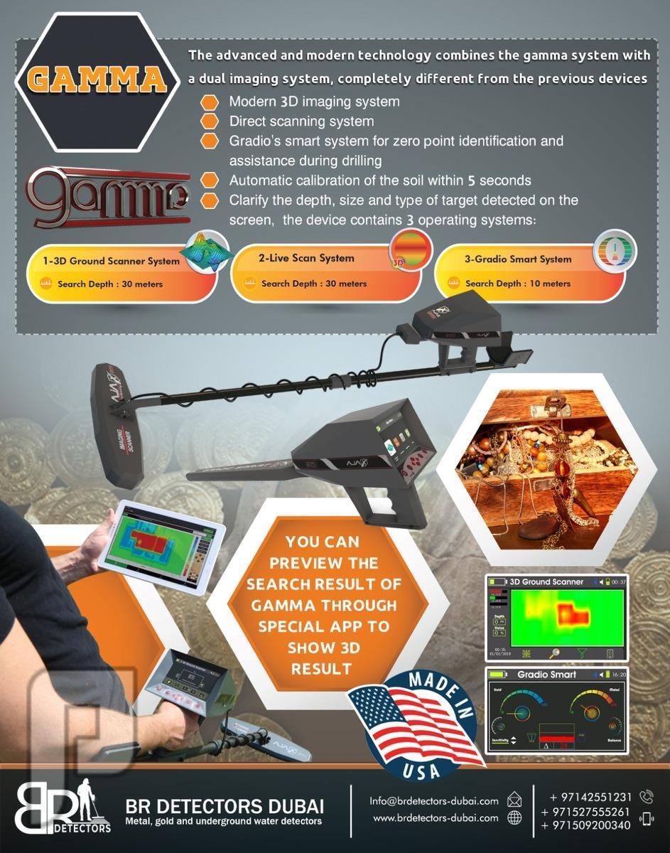 3D Gold Detector | Treasures detector Gamma Ajax 3D Gold Detector | Treasures detector Gamma Ajax