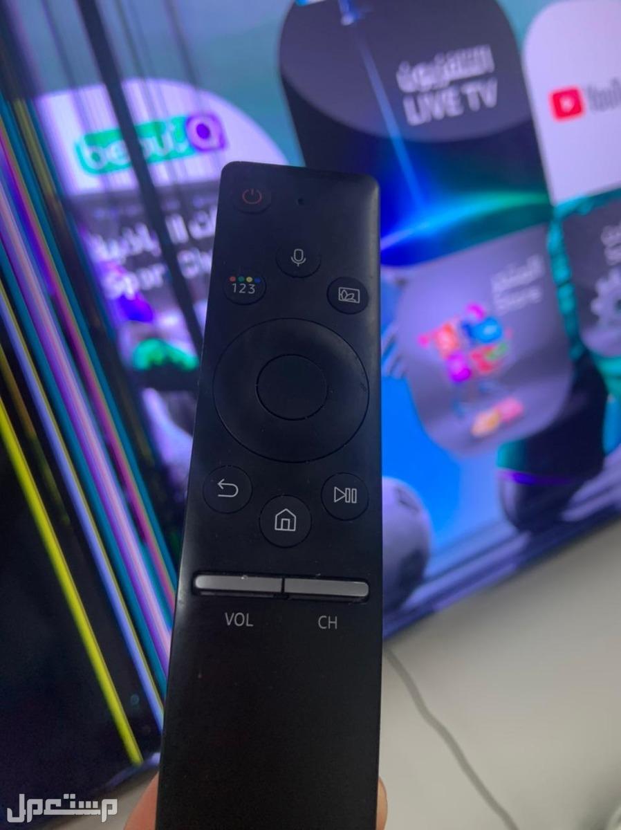 شاشة مكسورة 65 بوصة سامسونج QLED 2018