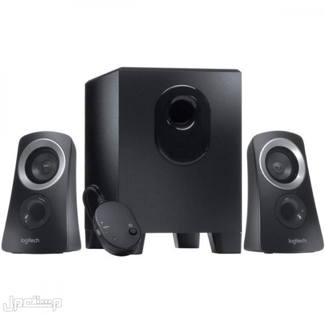 لوجيتك Z313 نظام مكبر صوت، سماعات 2.1 صوت محيطي، صب ووفر، صوت كامل المدى، ط