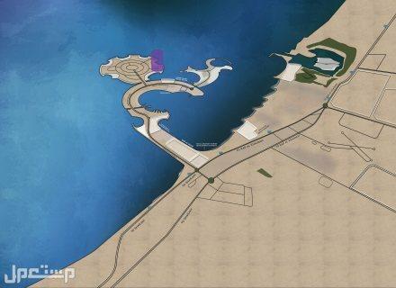 منتجع المهرة يضمن لك عوائد استثمارية مضمونة بالاستثمار الفندقي موقع المنتجع داخل الجزيرة