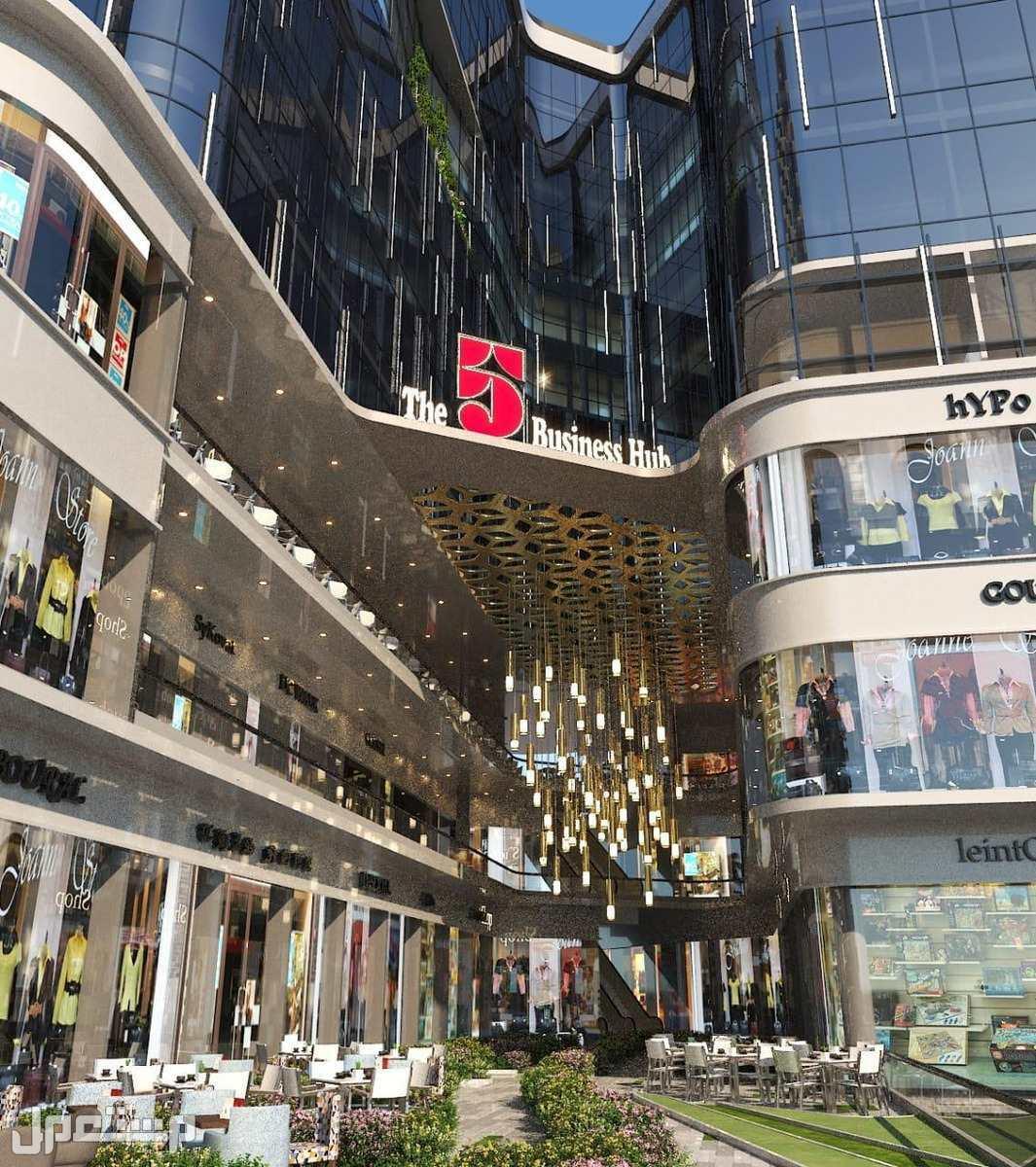 محلات للبيع في مصر العاصمة الادارية بالتقسيط على 5 سنوات