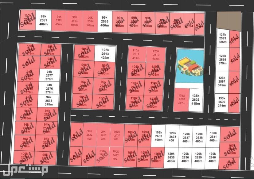 أرض في مصفوت من المطور مباشرة بسعر 94 ألف فقط شامل كل شيء