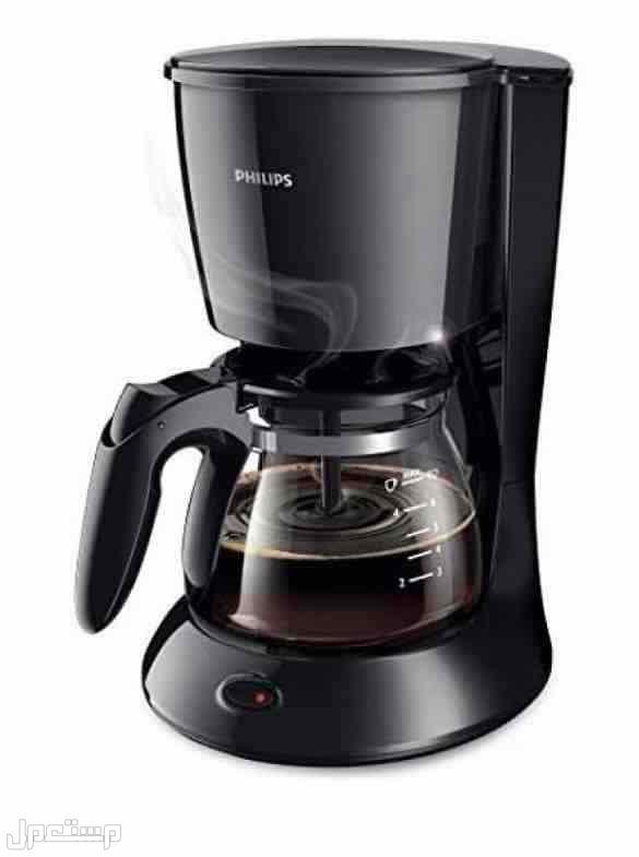 ماكينة تحضير القهوة ، اسود
