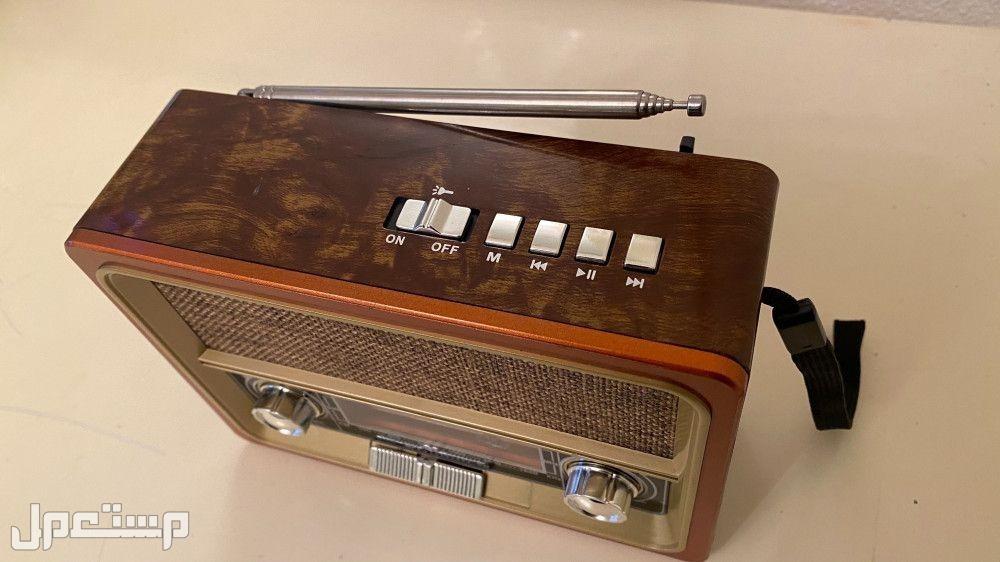 سماعة بلوتوث شكل راديو انتيك 👍