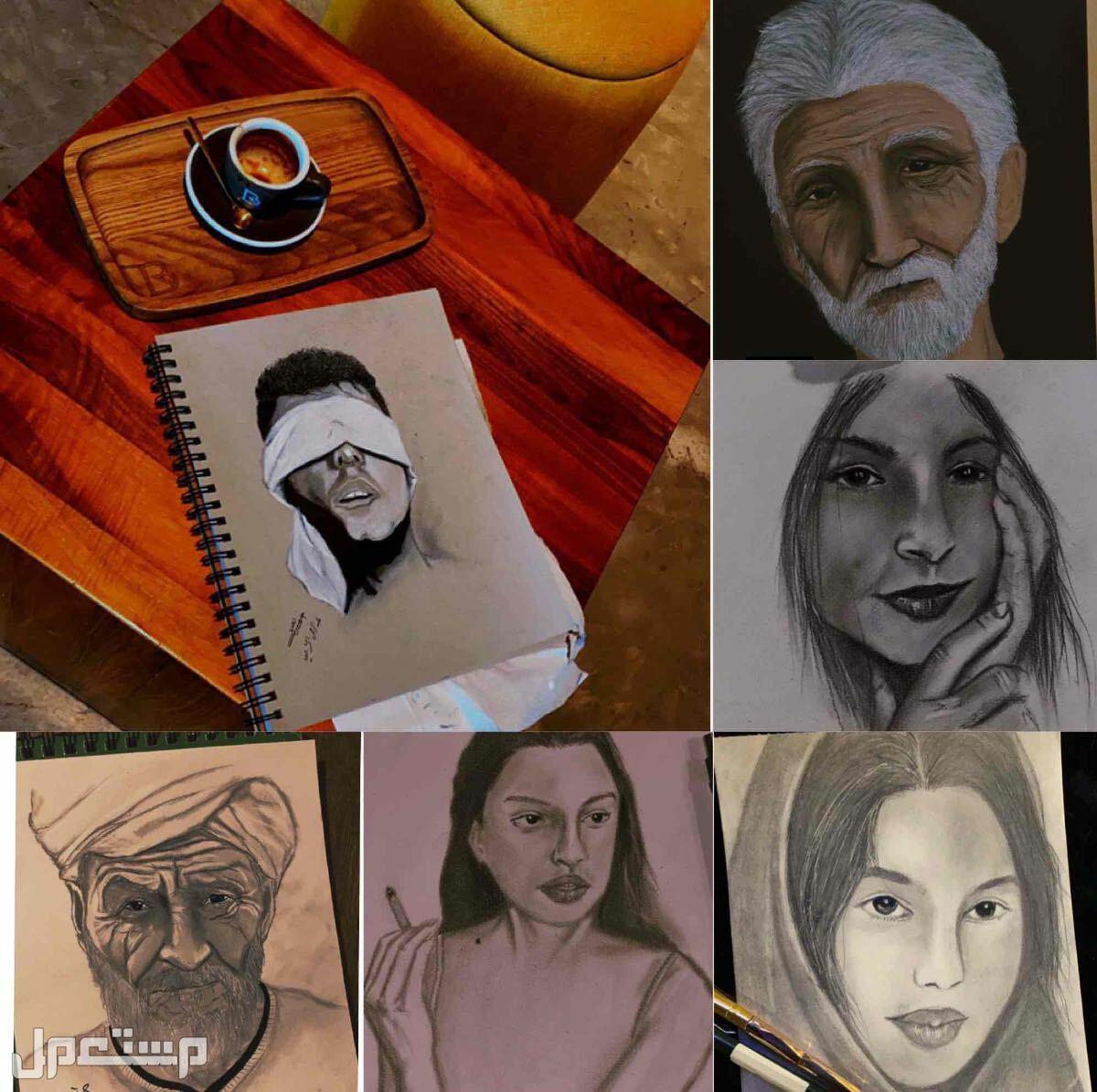 رسم شخصيات