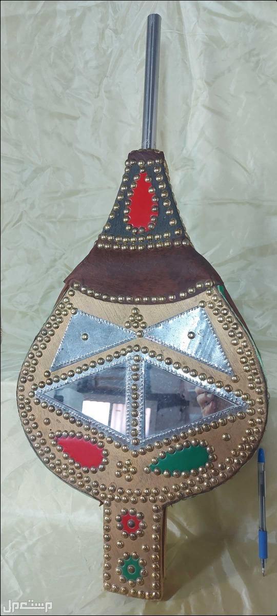منفاخ نجدي اصل تراثي تحفة قديمة تراثية متحفية بامتياز