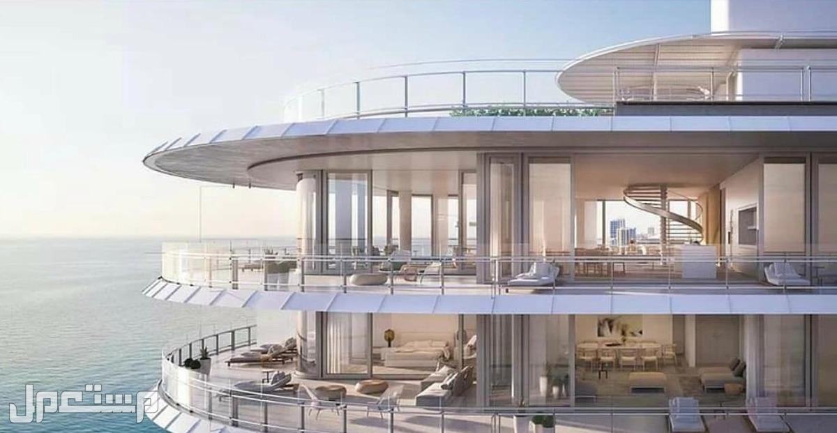 عائد استثماري سنوي مضمون بمنتجع المهرة الفندقي اطلالة الوحدات العليا على البحر مباشرة