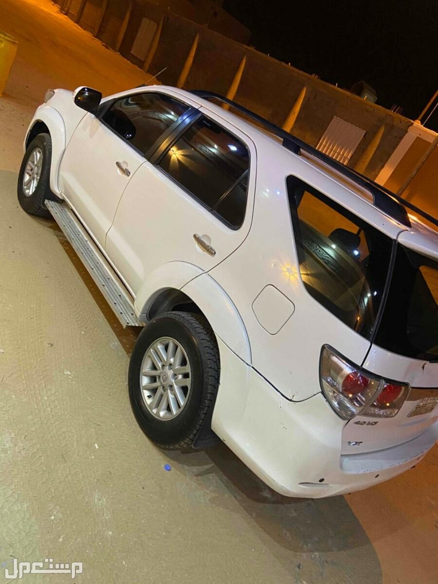 تويوتا فورتشنر 2012 مستعملة للبيع