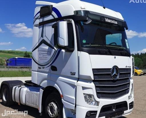 لدينا بسعر منافس للبيع شاحنه مرسيدس اكتروس  1845 mp4 (2*4) موديل : 2013