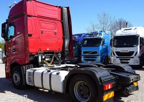 الان و بسعر مميز للبيع شاحنه مرسيدس اكتروس  1845 mp4 (2*4) موديل : 2013