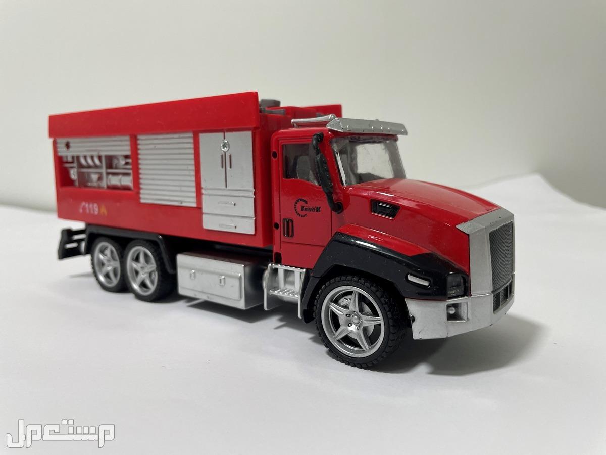 للبيع مجسمات شاحنات اطفاء