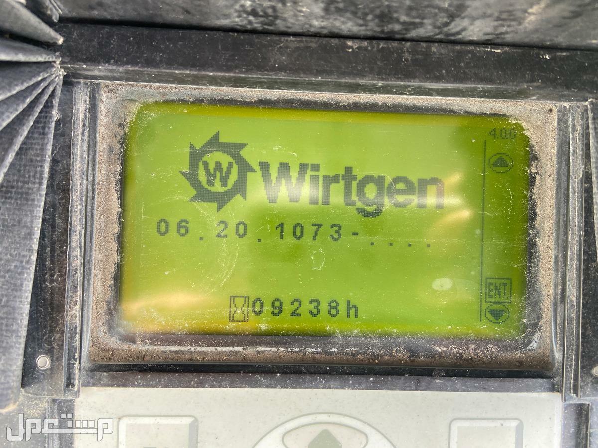 % تخفيض السعر %:قشاطة اسفلت مترين Wirtgen W 2000 موديل 2008