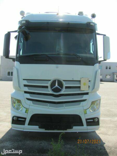 لو ترغب فى اقوى الشاحنات لدينا  شاحنه مرسيدس اكتروس 1843 mp4 موديل : 2014