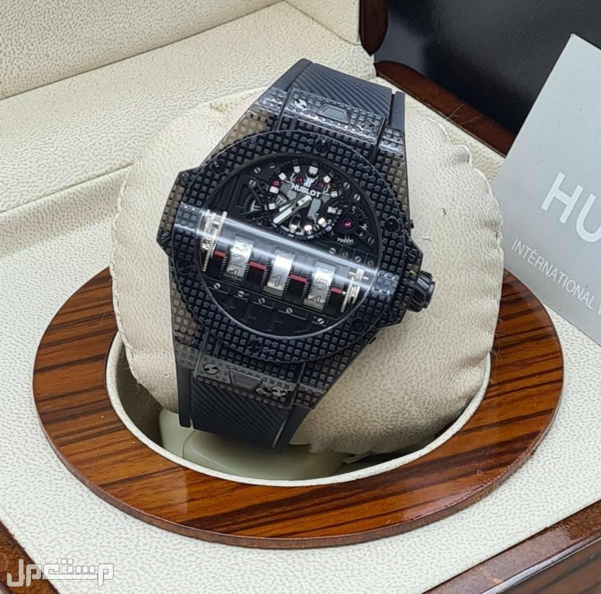 ساعة هوبلت اتوماتيك شفاف عالي الجودة