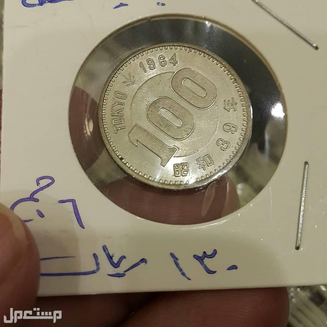 عملات معدنية للبيع 100 ين ياباني فضة