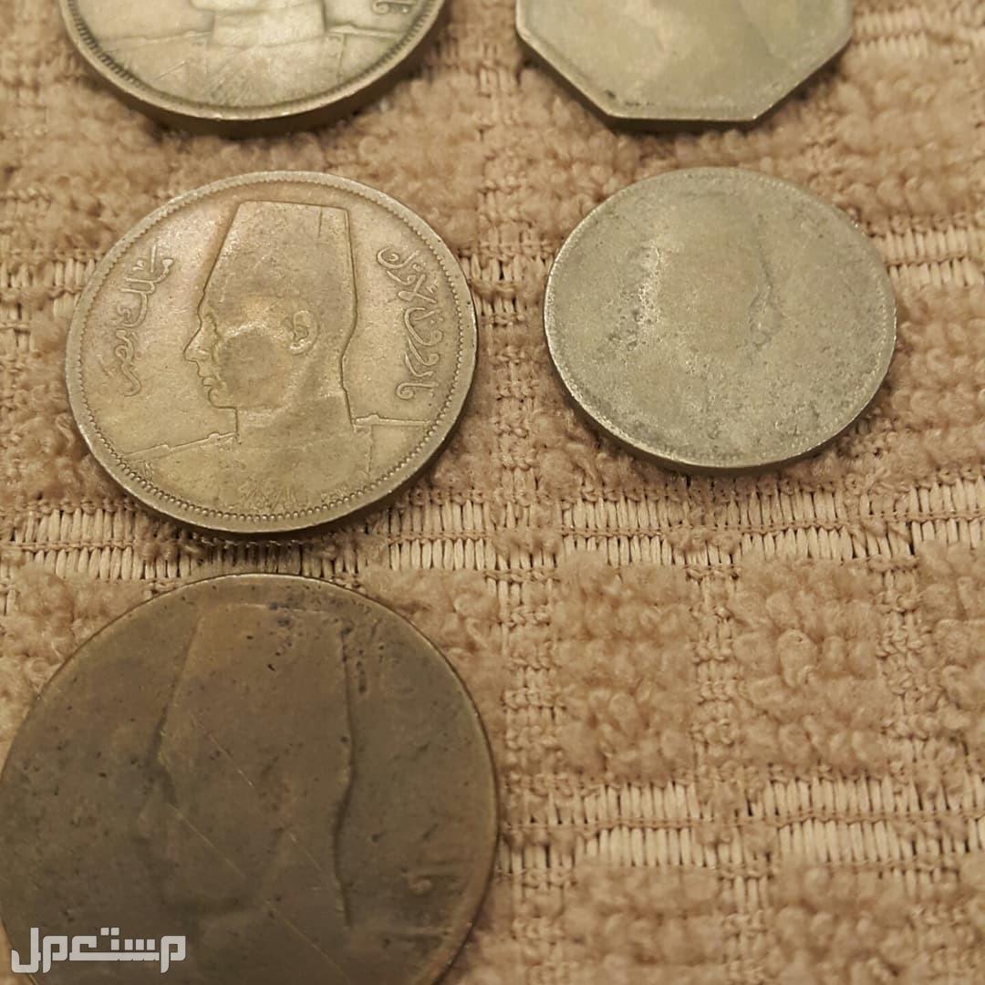 عملات معدنية للبيع عملات ملكية مصرية
