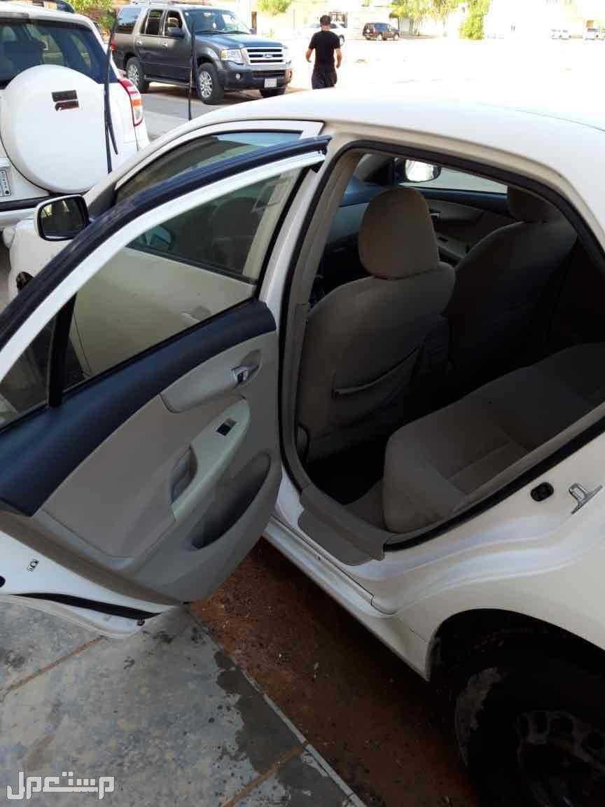 تويوتا كورولا 2012 مستعملة للبيع