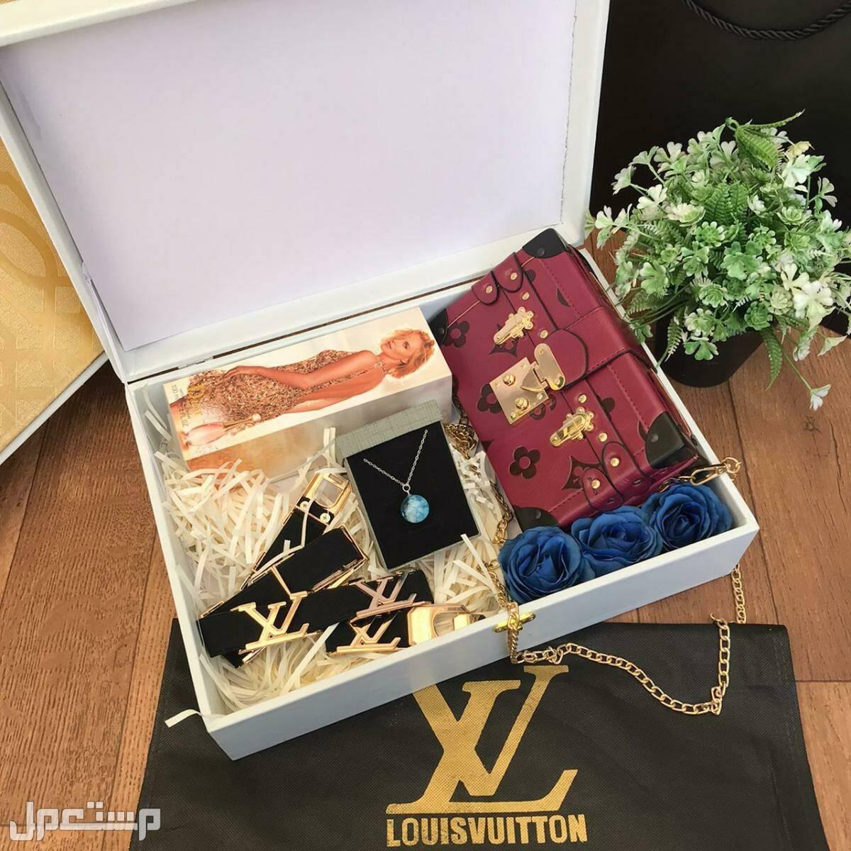 بكس هدايا نسائي ماركة لويس فيتون ❤ اهدي من تحب