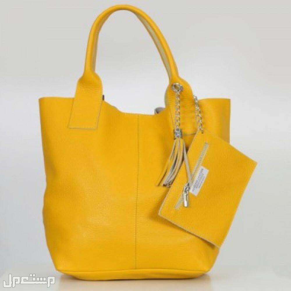 ديفا الايطاليه - حقيبة كرستينا ديفا الايطاليه - حقيبة كرستينا اصفر