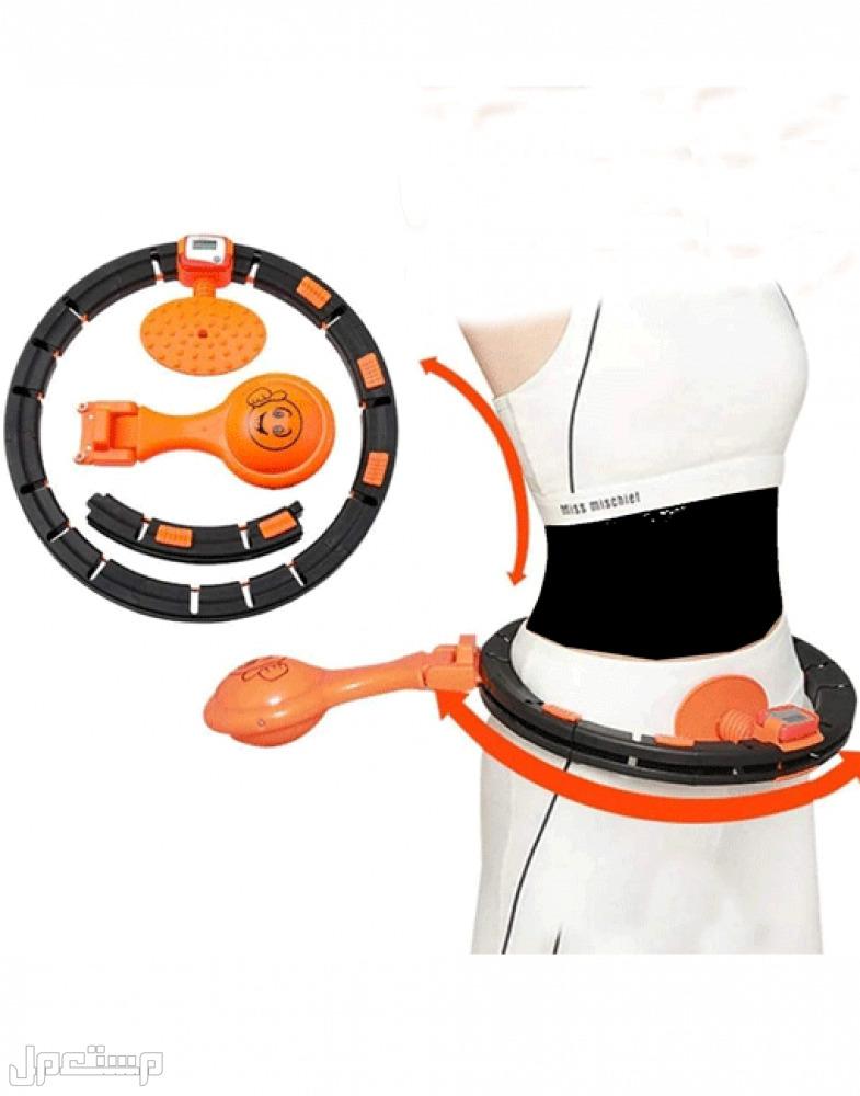 جهاز هولا هوب الذكي لتمارين اللياقة البدنية نحيفة للبطن على شكل S جهاز هولا هوب الذكي لتمارين اللياقة البدنية نحيفة للبطن على شكل S