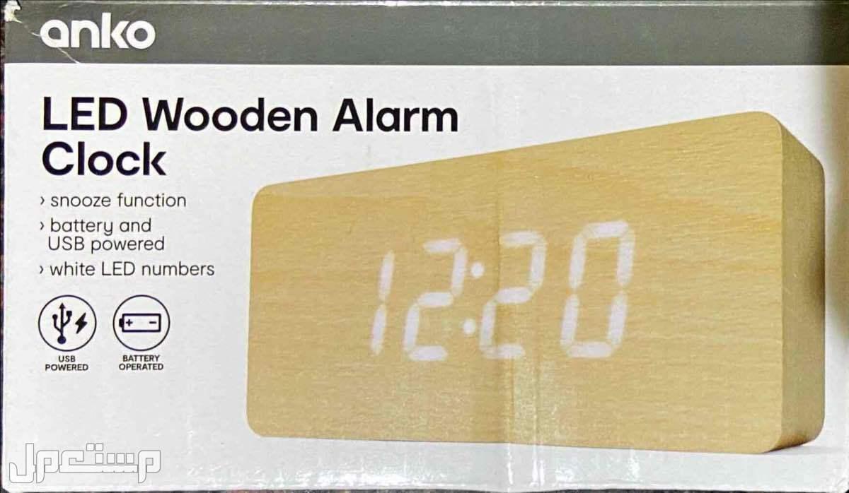 ساعة رقمية LED