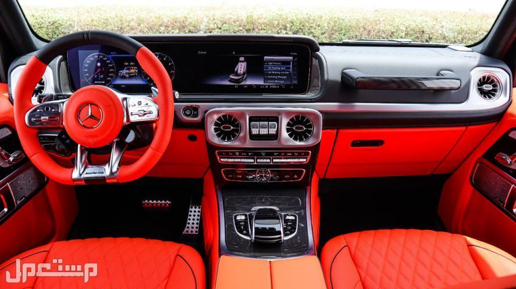 مرسيدس G63 AMG موديل 2021 (جديد)
