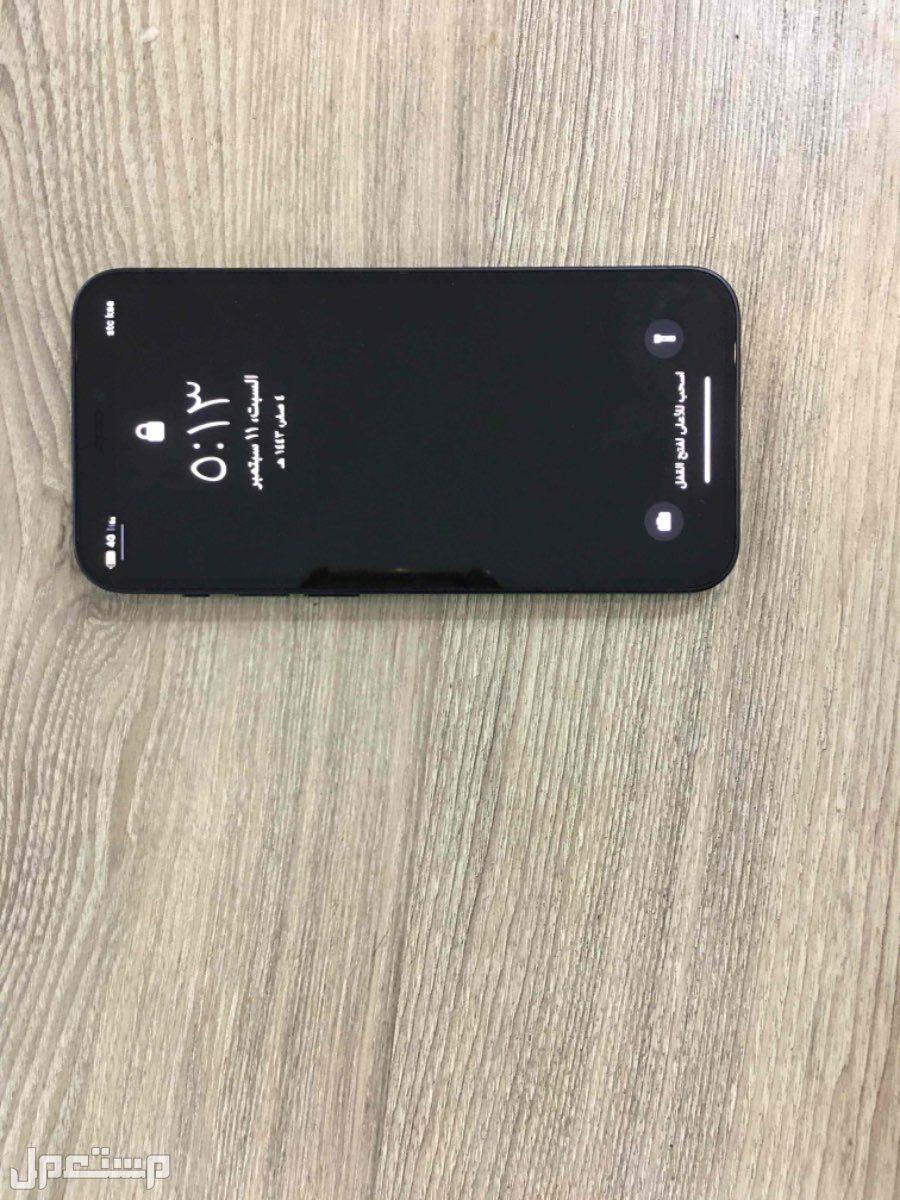 ايفون 12 ميني جديد ونضيف جدا ماكمل استخدام 3 اسابيع
