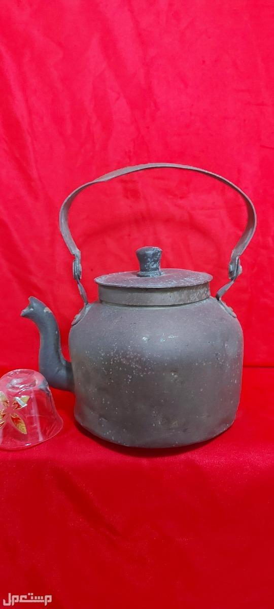براد شاي نحاس تحفة تراثية قديمة قديم ونظيف تحفه